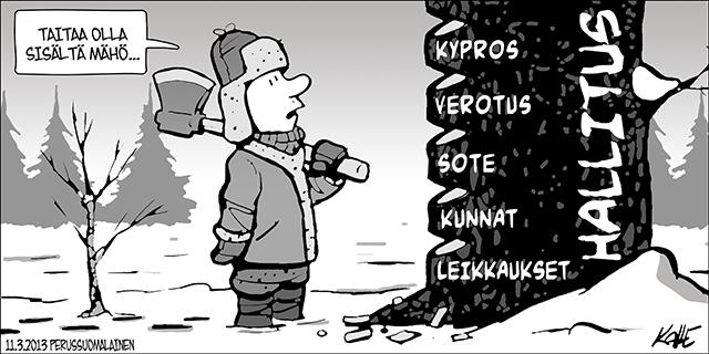 Hallitus Kaatuu