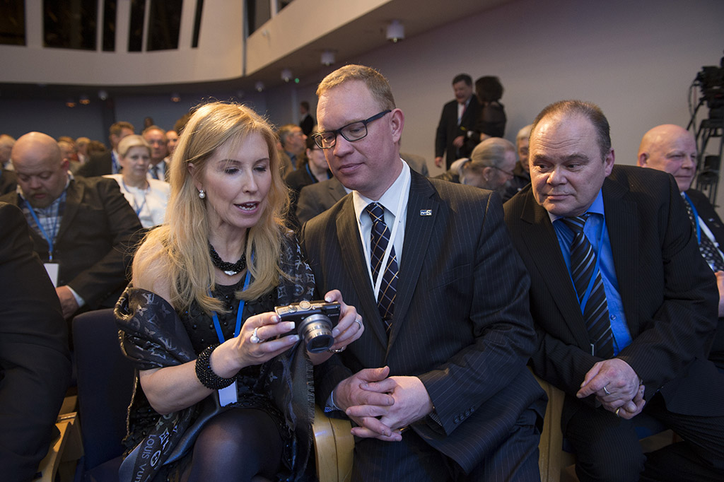 29.3.2014 Helsinki, Finaldia-talo, Kentän työjuhla. kuva Matti Matikainen