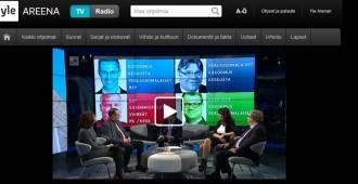 Riikka Slunga-Poutsalo Ylen A-studiossa: Kansa päättää Natosta