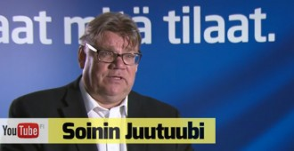 Ketkä saavat tulla Suomeen? Mitä mieltä Soini on rasismista? Katso video