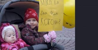 Soini: Kotihoidontukea ei lyhennetä, perheiden itsemääräämisoikeuteen ei kajota