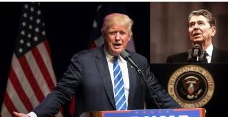Suomalaismedian inhokit: Trump ja Reagan