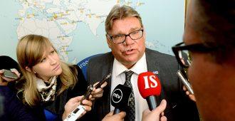 Soini: EU:lla on mahdollisuus selviytyä, jos sovituista asioista aletaan pitämään kiinni