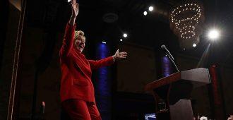 Hullunkurista uutisointia: Demokraattien kannattajat äänestivät Yhdysvaltain vaaliväittelyvoittajasta, demokraattien Hillary Clinton voitti