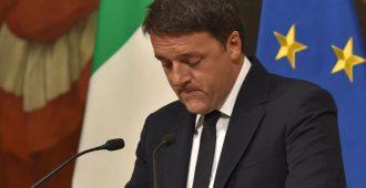 Italian pääministeri tunnustaa vaalitappion, eroaa