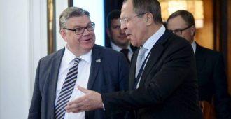 Venäjän ulkoministeri Lavrov vierailulle Suomeen