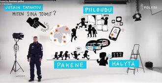 """Kun terroristit iskivät Lontoossa, poliisi julkaisi """"Run-Hide-Tell""""-hätäohjeet – nyt Suomen poliisilta video, jossa identtiset ohjeet"""