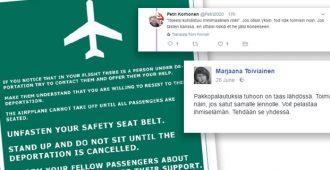 """Kohupappi Marjaana Toiviaiselta hämmentäviä ohjeita lentomatkustuksen sabotoimiseksi: """"Toimi näin.."""""""