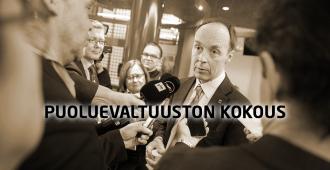Perussuomalaiset päättävät presidenttiehdokkaasta lauantaina klo 12 – seuraa tilaisuutta suorana