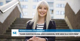 Erikoishaastattelussa Laura Huhtasaari: Presidentin täytyy huolehtia kansallisvaltion edusta