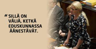 Alkoholiäänestys ratkesi PS:n äänillä – Leena Meri: Kansalaiset toivoivat vapaampaa politiikkaa