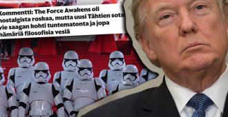Nyt-liite revittelee: Tähtien Sota-elokuva on Trump-vastainen – vaikka se tehtiin kauan ennen Trumpin nousua