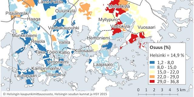 Tallainen On Tuula Haataisen Kotikaupunginosa Keskitulot Yli 50