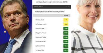 Tamperelainen: Huhtasaari noussut vedonlyöntikertoimissa jo toiseksi