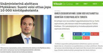 Jussi Halla-aho kokoomuksesta: Jopa eurooppalaiset sosiaalidemokraatit ajavat tiukempaa maahanmuuttopolitiikkaa
