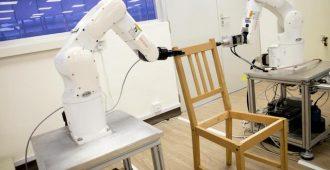 Tähän on tultu: Robotti pystyy kokoamaan jopa IKEA:n huonekalun
