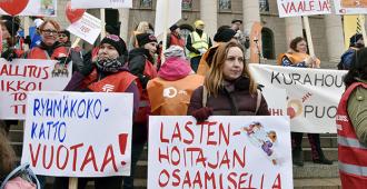 """Perussuomalaiset: Varhaiskasvatuksen toimivuus on uusia pätevyysvaatimuksia tärkeämpää – """"vaatimuksia ollaan kohtuuttomasti tiukentamassa"""""""