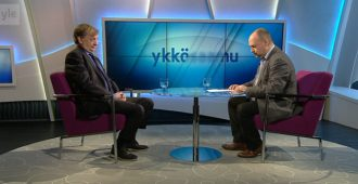 Hjallis Harkimo Ylellä: Sinisten tulo hallitukseen oli kokoomuksen eduskuntaryhmälle ilmoitusasia –  meiltä ei kysytty mitään