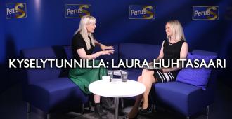 Kyselytunnilla: Laura Huhtasaari