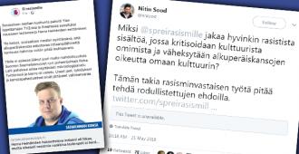 Jani Toivolan eduskunta-avustaja valppaana – löysi rasismia jopa SPR:n rasismia vastustavasta kampanjasta