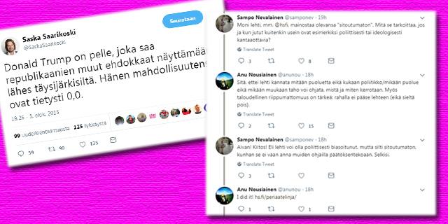 HS myöntää jo itsekin oman asenteellisuutensa - Suomen Uutiset cfcc40c73d
