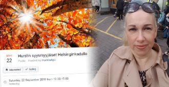 Kaupunginvaltuutettu Pia Kopra yrittää palauttaa aloitteellaan Hurstilta leikattua 50 000 euron tukea – Helsingin valtuusto käsittelee asiaa keskiviikkona