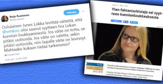 Tekniikan Maailman päätoimittaja kummastelee, miksi Johanna Vehkoon tapauksesta ei uutisoida