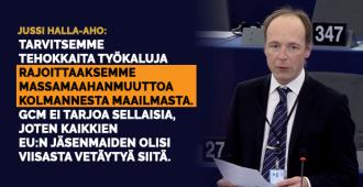 """Halla-aho: Eurooppaan suuntautuva muuttopaine uhka yhteiskuntiemme olemassaololle, GCM-siirtolaissopimus sisältönsä puolesta """"harhaanjohtava ja vaarallinen"""""""