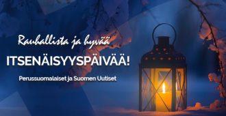 Hyvää itsenäisyyspäivää Suomi ja suomalaiset