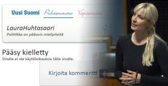 Suora puhe islamista oli liikaa – Uusi Suomi laittoi Huhtasaaren kirjoituskieltoon