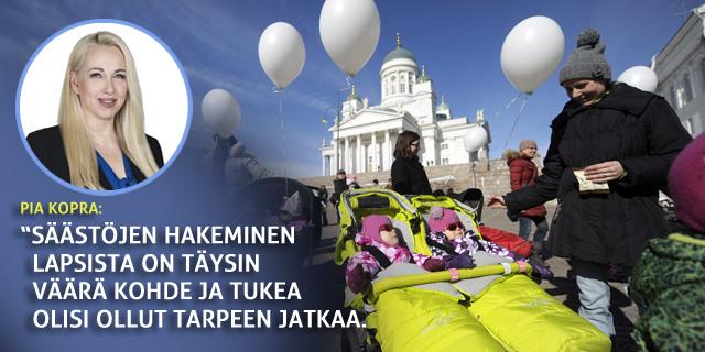 Kaupunginvaltuutettu Pia Kopra: Päätös Helsinki-lisän poistamisesta yli 2 vuotiailta lapsilta on käsittämätön