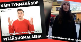 SDP:n kannat turvapaikanhakijoista ovat yhtä tuuliviiriä – Sanna Marinin outo kommentti tallentui videolle
