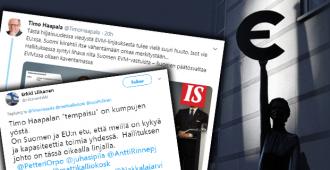 Sipilän käsittämätön EVM-kanta tarkoittaa suomeksi sitä, että hallitus haluaa luopua Suomen päätösvallasta omiin rahoihinsa