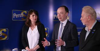 Halla-aho: EU:n pitää olla työkalu, joka tuottaa lisäarvoa jäsenmaille ja niiden kansalaisille, sen sijaan että se on Saksan ja Ranskan suurvaltaprojekti ja rahansiirtokoneisto