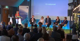 EK:n paneelissa puitiin ilmastokysymyksiä, Halla-aho puhui kotimaisten sellutuotannon puolesta