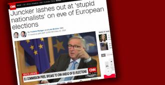 """Jurri-Juncker tiedottaa: """"sinä olet tyhmä"""""""