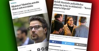 Mika Raatikainen vihreiden kärkiehdokkaiden kaksinaismoralismista: vaativat harmaan talouden torjuntaa, itsellään talousepäselvyyksiä