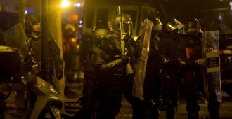Kataloniassa levottomuuksia – poliisia vastaan hyökätty palopommeilla ja hapolla