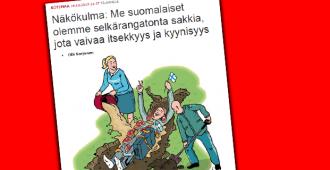 Bemareita kauppaavan konsernin Karjalainen-lehti ylimielisenä: suomalaisten pitää lopettaa lihansyönti ja hävetä