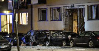 Oudon räjähdyksen syy selvisi Ruotsissa: Hienostokaupunginosan voimakkaan pommin kohteena oli huumeiden jakelupiste