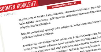 Mika Niikko vastaa: Suomen Kuvalehden vihjailuilla ei ole katetta