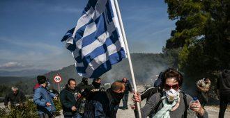 Kreikan hallitus aikoo jatkaa suljettujen vastaanotto- ja palautuskeskusten rakentamista saarille protesteista huolimatta