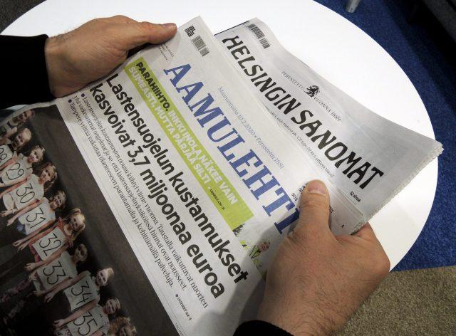 Sanomalehdet Suomessa