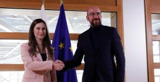 Eurooppa-neuvoston puheenjohtaja Michel pohjoisille jäsenmaille: Kukkarot auki