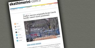 Saksan tiedustelupalvelu: Turkin viranomaiset lietsoivat väkivaltaisuuksia Kreikan rajalla