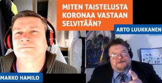 Ei jäädä koronaan makaamaan – miten taistelusta koronaa vastaan selvitään? Suomen Perusta pohtii (video)