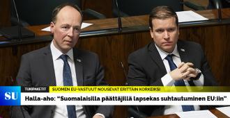 """Halla-aho EU-tukipaketeista: """"Komission esitys on taas yksi osoitus siitä, että laeilla ja säännöillä ei ole mitään merkitystä"""""""
