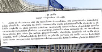 Kommentti: Suomen valtion lainsäädännöllinen pohja on tällä hetkellä epäselvä – EU:n lakeina toimii poliittinen tahto