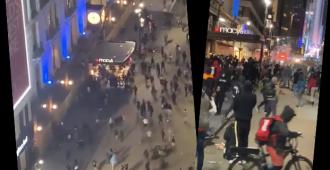 Demokraattien kotiseudut kaaoksessa, ryöstelijät iskivät tavaratalo Macy'siin – New Yorkin ikoniin
