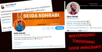 Intersektionaalisuus näyttää kyntensä: Vasemmistonuorten puheenjohtaja Liban Sheikh listaa syitä sille, miksi pakolaistaustaisen Seida Sohrabin pitäisi sulkea suunsa